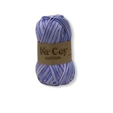 Mr. Cey Cotton Multi 810 Purple Flower