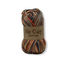 Mr. Cey Cotton Multi 811 Made in Brown
