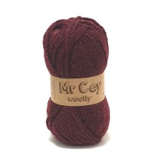 Mr. Cey Woolly 086 Burgundy